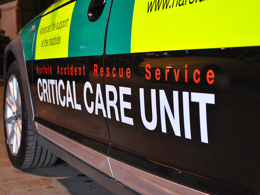 Norfolk Accident Rescue Service Critical Care Unit